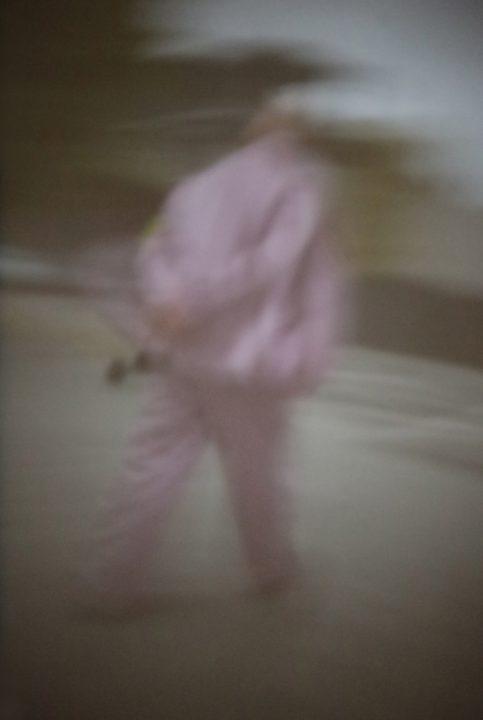 Werk: Mann im lila Anzug