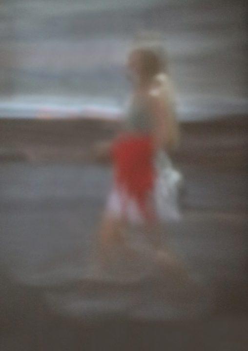 Werk: Frau am Strand