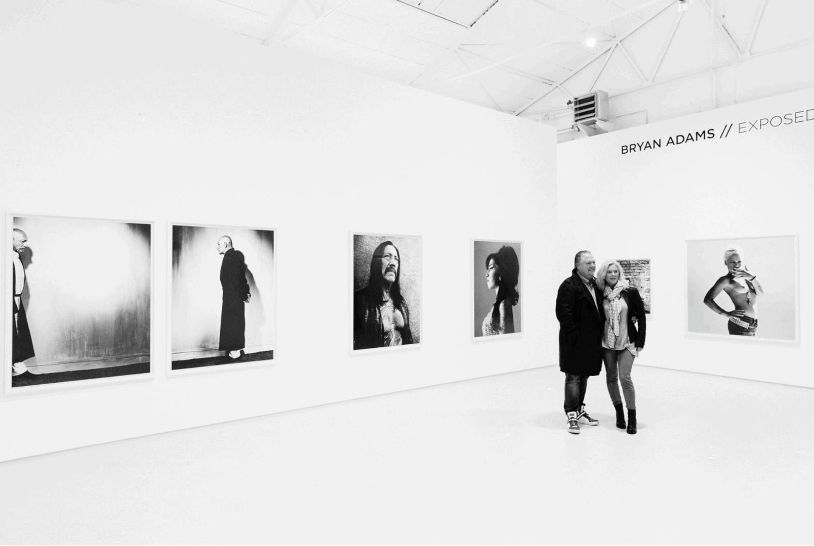 SOLOSHOW BRYAN ADAMS / EXPOSED at WERKHALLEN Galerie REMAGEN ®JanBirkenstock // 2017
