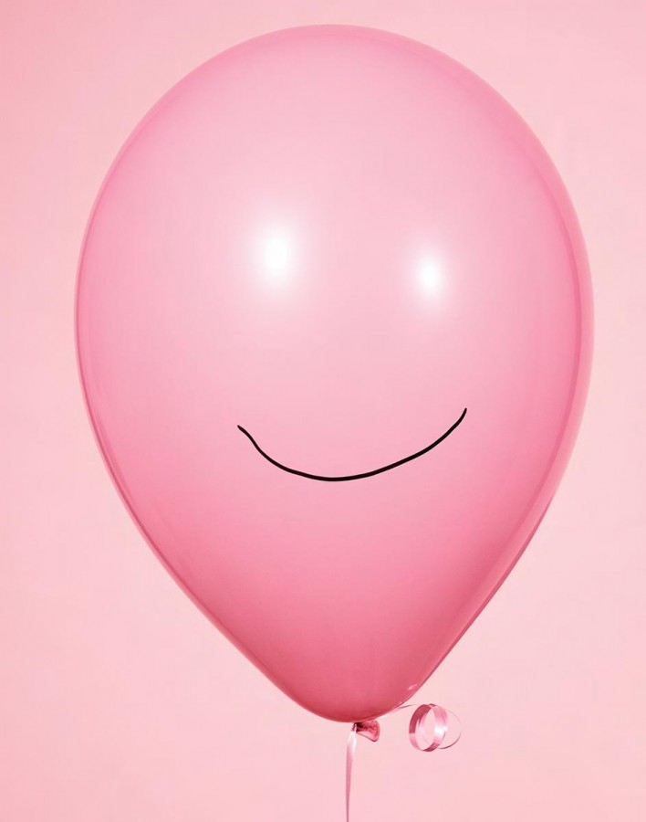 Werk: Pink balloon