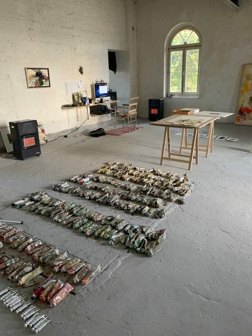 Besuch im Atelier Reuschenberger Mühle // 2020
